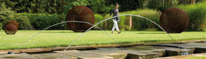 jardin moderne et design