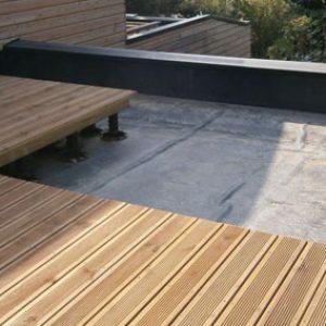 revetement toit terrasse bois