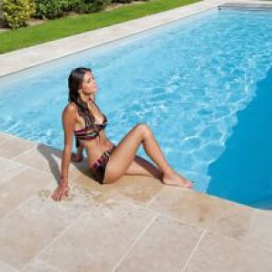 margelles pour piscine en pierre naturelle - Piscine & Jardin