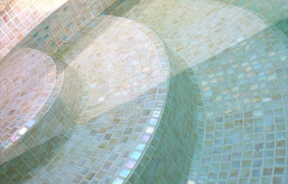 mosaique piscine anti derapant