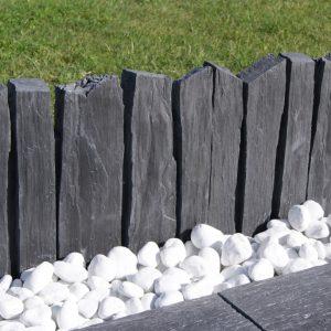 bordure jardin schiste pierre naturelle