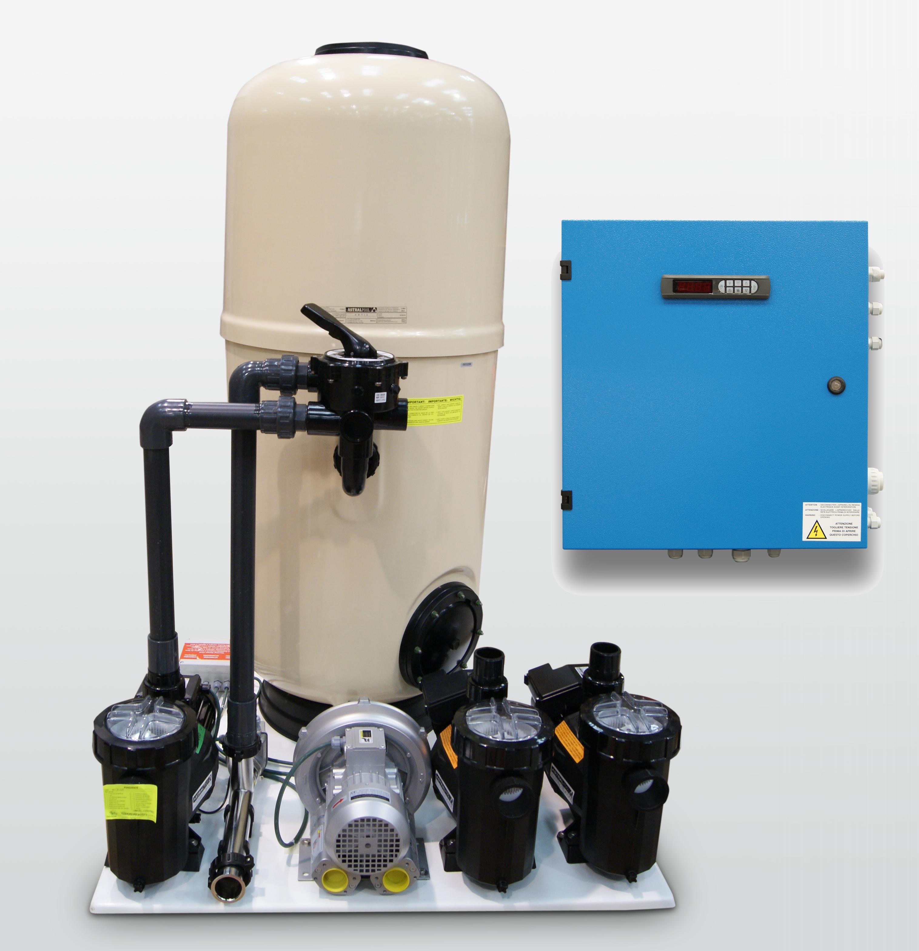 spa public kit filtration entretien
