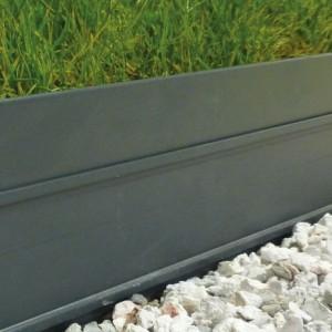 bordure jardin alu gris