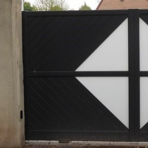 portail classic moderne pvc