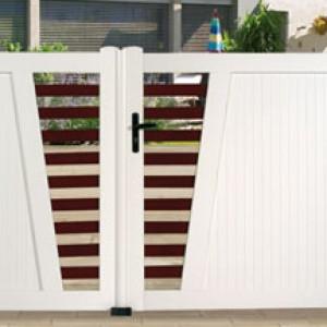 barriere porte entree exterieur pvc