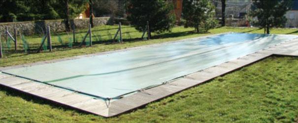 Couverture d'hivernage de piscines dans le Nord 59