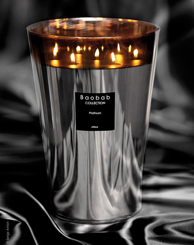Bougies parfumées - Baobab collection - Piscine & Jardin
