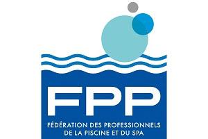 Logo FPP : Fédération des professionnels de la piscine en France