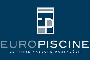 Logo europiscine, votre concepteur constructeur de piscine