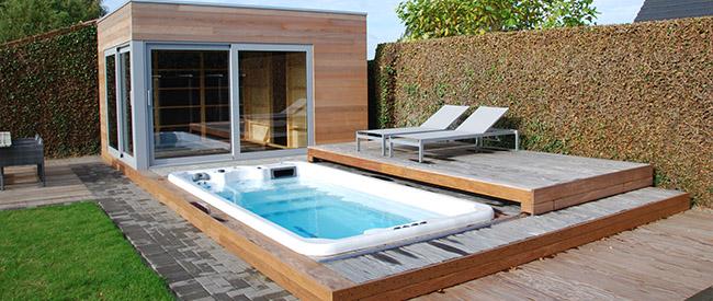 Votre système de fitness aquatique FIT'SWIM - espace optimisé à domicile près d'Arras 62