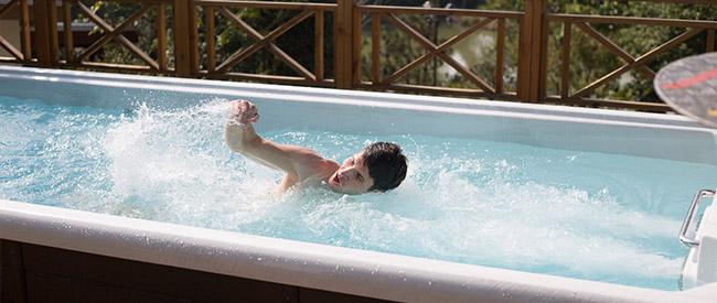 Votre système de fitness aquatique FIT'SWIM - espace sport et bien être à domicile près de Le Touquet Paris-Plage